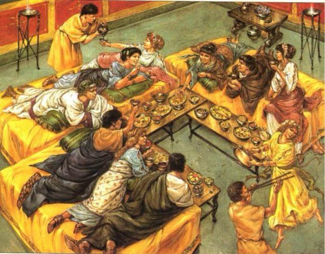 রোমান সাম্রাজ্যের এলাহি খাবার